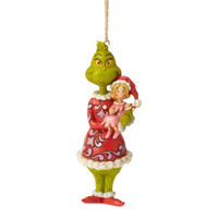 Grinch and Cindy Lou ornament by Jim Shore