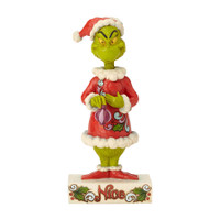 Jim Shore Naughty and Nice Grinch - Nice