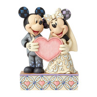 Jim Shore Disney Mickey and Minnie Wedding Figurine