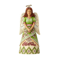 Jim Shore Mother Angel Mini Figurine