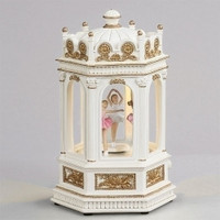 Musical Ballerina Gazebo - Plays Swan Lake