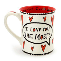 I Love You Most Coffee Mug | The Collectors Hub