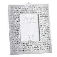 Memorial Photo Frame with Verse - Broken Chain by Roman