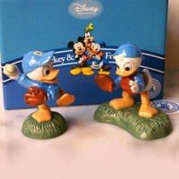 "Mickey & Friends ""Huey & Louie"" Baseball Figurine Set"