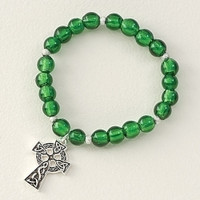 Irish Beaded Bracelet