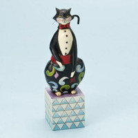 Jim Shore Tuxedo Cat Figurine