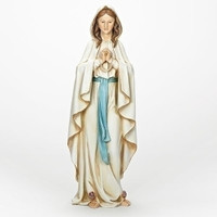 Our Lady Of Lourdes Figure- 24in Scale | The Collectors Hub
