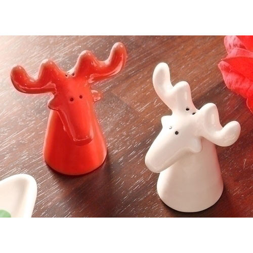 Moose Salt and Pepper Shakers