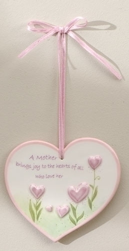 Mother's Heart Plaque
