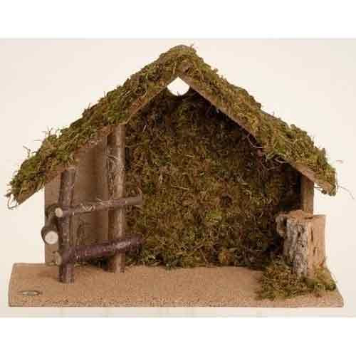 "Fontanini 5"" Scale Nativity Italian Stable"