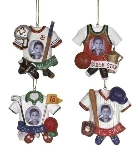 Sport Jersey Photo Ornament