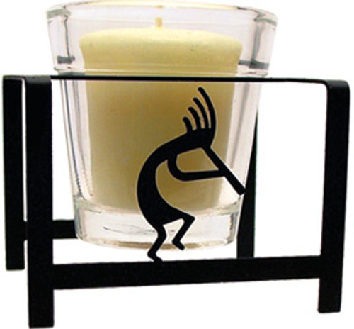 Kokopelli Votive Candle Holder