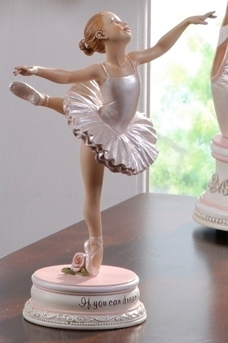 Ballerina figurine If You Can Dream It