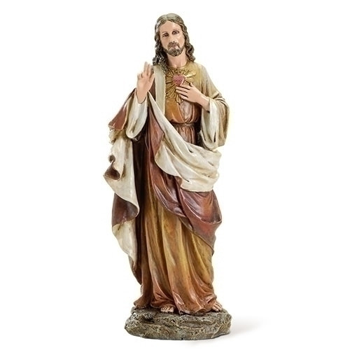 Joseph Studio Sacred Heart of Jesus Figurine