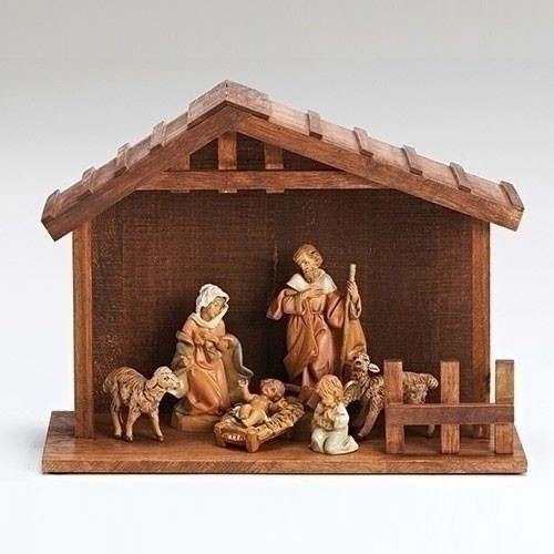 Nativity Set - 6 piece starter set by Fontanini