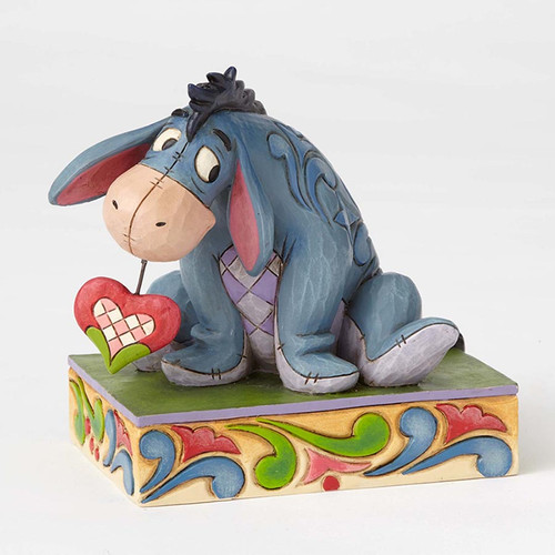 Jim Shore Eeyore Valentine Heart figurine - Disney Traditions Collection