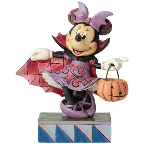 Jim Shore Minnie Mouse Vampire Figurine | Disney Traditions