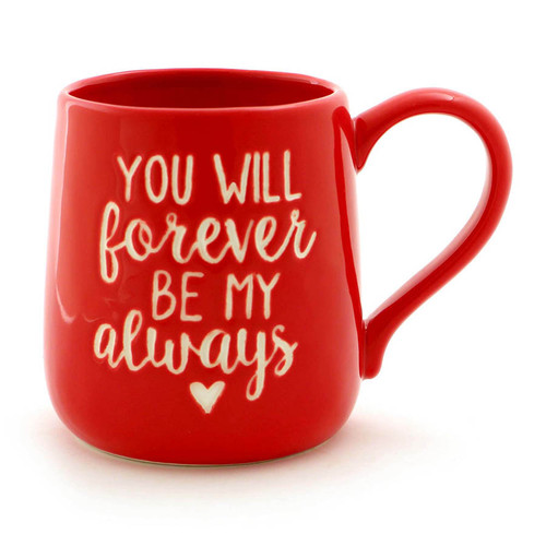 Red Forever Always Coffee Mug