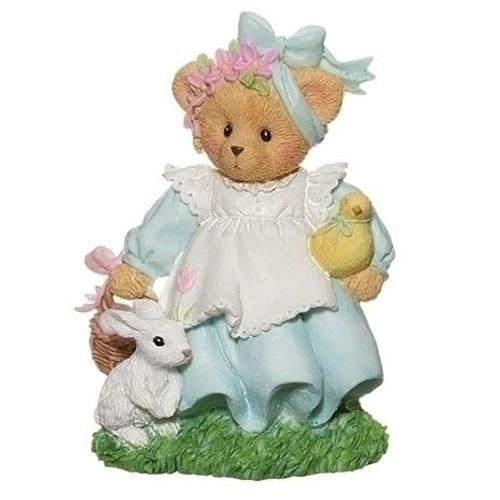 Cherished Teddies Easter Figurine - Addie