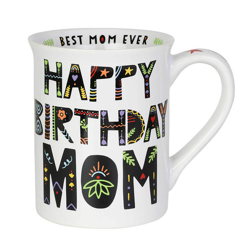Happy Birthday Mom Coffee Mug | The Collectors Hub