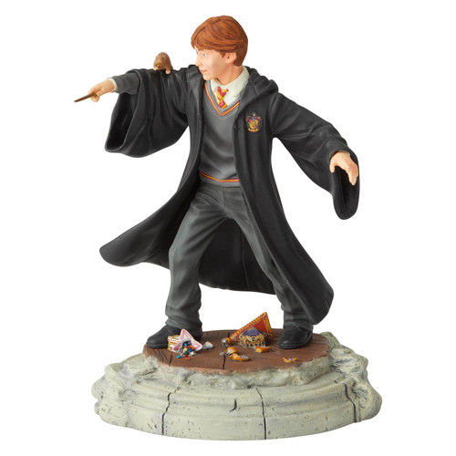 Ron Weasley figurine from the Wizarding World of Harry Potter collection.