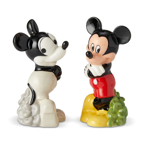 Mickey Mouse 90th Anniversary Then and Now Salt and Pepper Shakers
