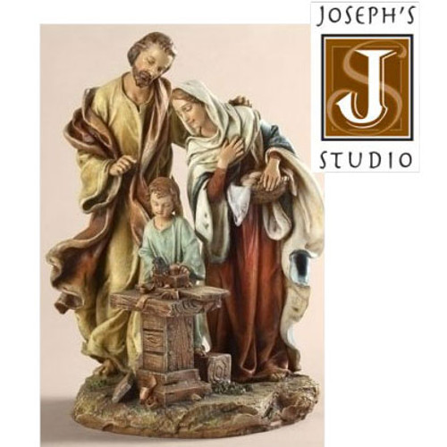 Holy Family Carpenter Figurine by Joseph's Studio