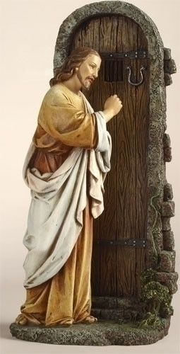 Joseph's Studio Jesus Christ Figurine Knocking At Door