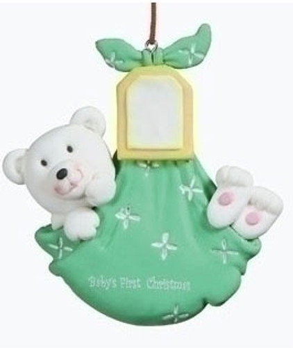 Baby's First Christmas Ornament - Bear