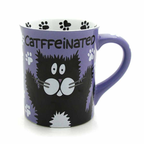 Catffeinated Coffee Mug-  Our Name Is Mud