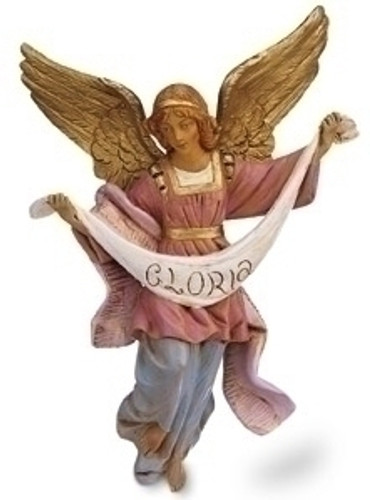 Fontanini Nativity Gloria Angel Figurine - 12in Scale