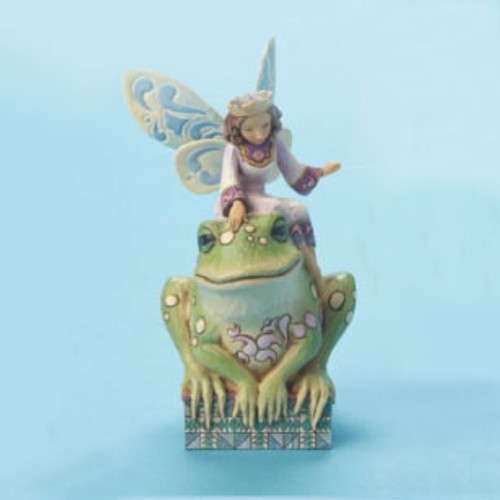 Jim Shore Fairy Figurine Frog Princess