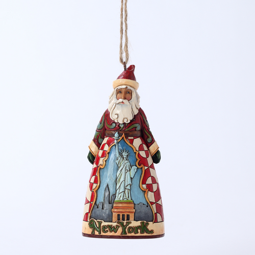 Jim Shore Santa Ornament - New York