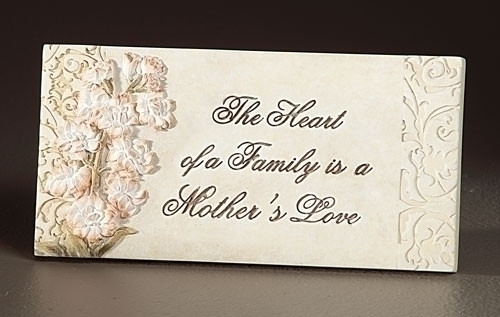 Mother's Love Desk Plaque
