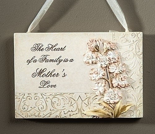 Mother's Love Wall Plaque