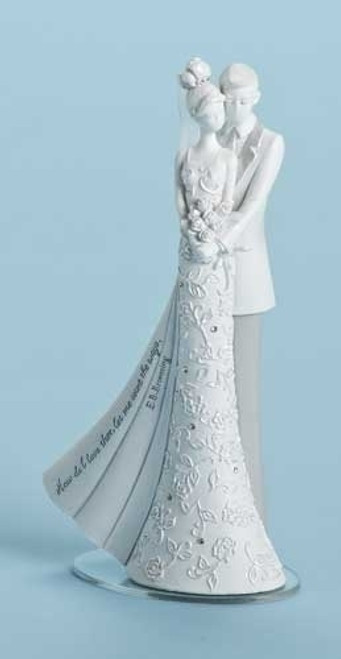 Gina Freehill Wedding Cake Topper My Love 6.25""