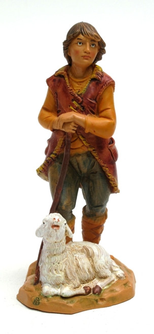 Fontanini 5'' Scale Nativity Paul the Shepherd Figurine