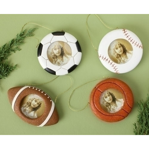 Game Ball Photo Ornament