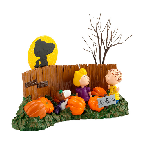 Peanuts Where's the Great Pumpkin figurine
