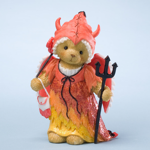 Cherished Teddies Devil Figurine Devlin