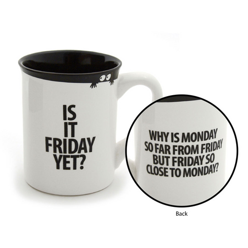 Is it Friday Yet Coffee Mug