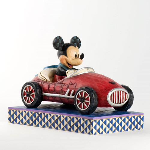 Jim Shore Mickey Mouse Roadster Figurine