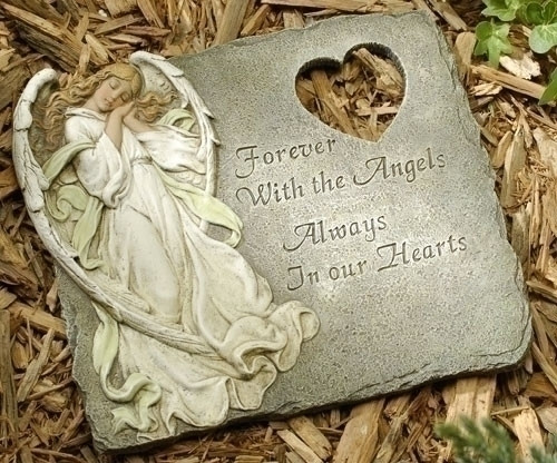 Memorial Angel Stepping Stone