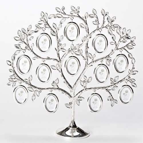 Family Tree Photo Frame with 12 oval photo frames