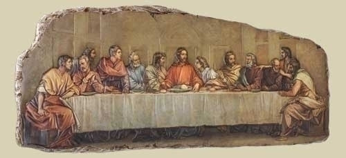 Last Supper wall plaque by Joseph's Studio