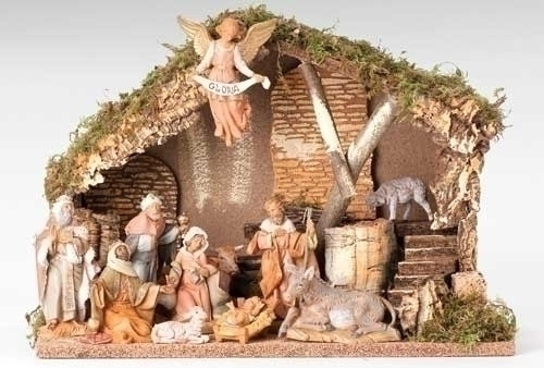 Fontanini 11 piece Nativity Set | 5 in scale