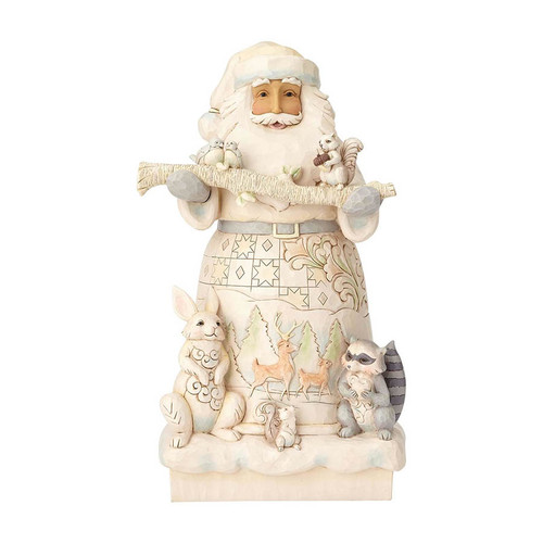 Woodland Santa figurine by Jim Shore