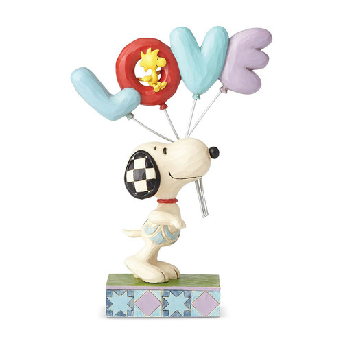 Snoopy with Balloons figurine