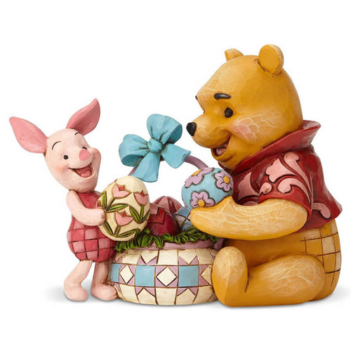 Winnie the Pooh & Piglet Easter figurine from Jim Shore Disney Traditions