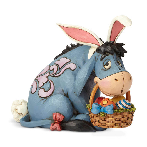 Jim Shore Eeyore as Easter Bunny figurine